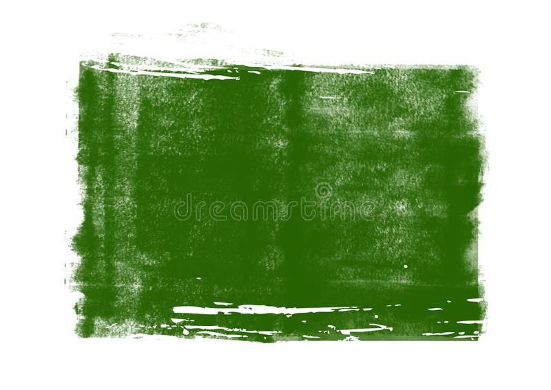 Color patches graphic brush strokes design effect element for background. Green graphic color patches brush strokes effect background designs element royalty free stock image