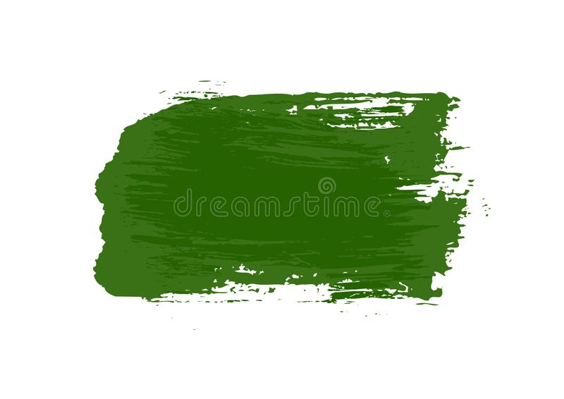 Color patches graphic brush strokes design effect element for background. Green graphic color patches brush strokes effect background designs element royalty free stock images