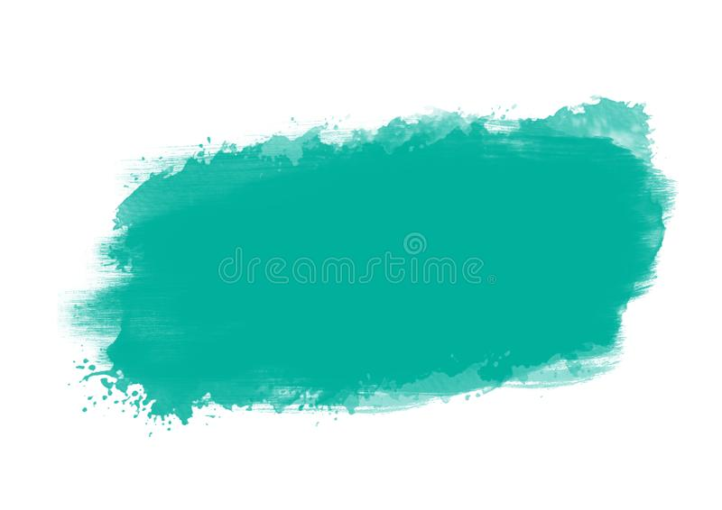 Color patches graphic brush strokes design effect element for background. Light blue graphic color patches brush strokes effect background designs element royalty free illustration