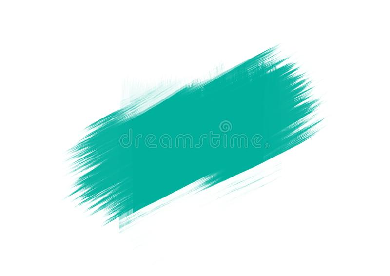 Color patches graphic brush strokes design effect element for background. Light blue graphic color patches brush strokes effect background designs element vector illustration