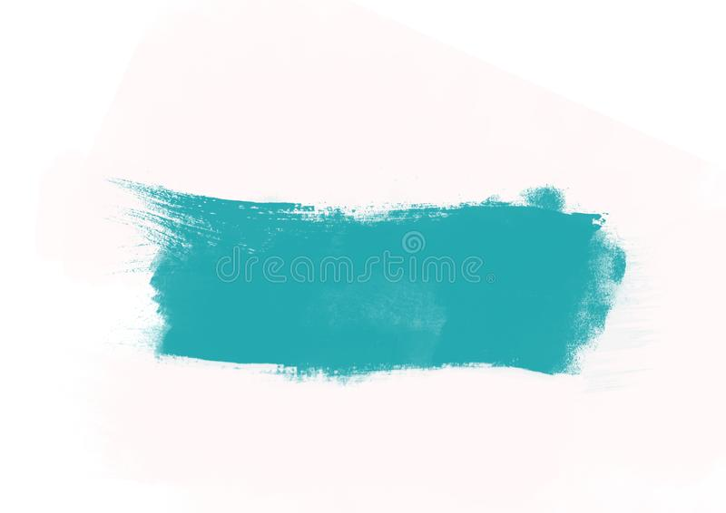 Color patches graphic brush strokes design effect element for background. Light blue graphic color patches brush strokes effect background designs element stock illustration