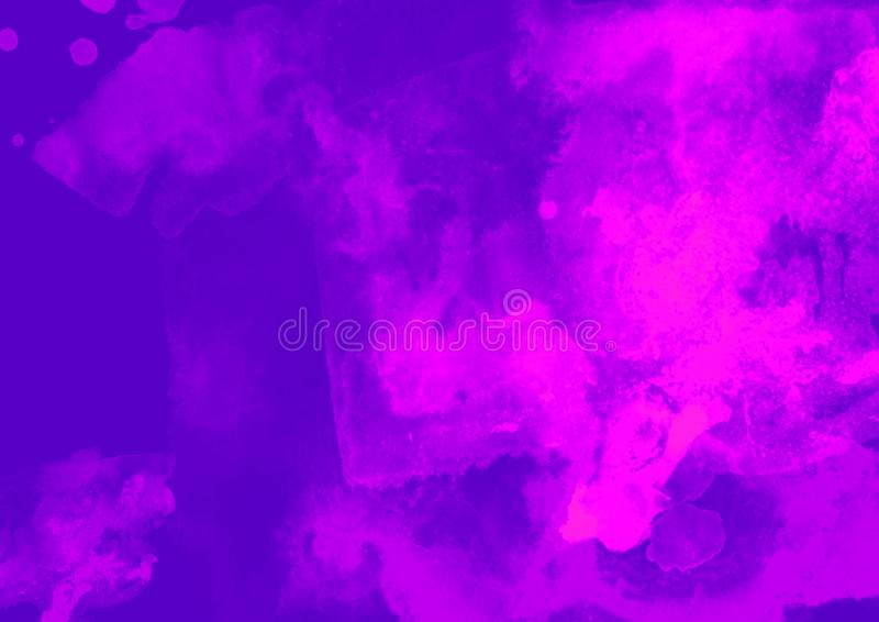 Color patches graphic brush strokes design effect element for background. Purple graphic color background with graphic patches brush strokes effect background stock photography