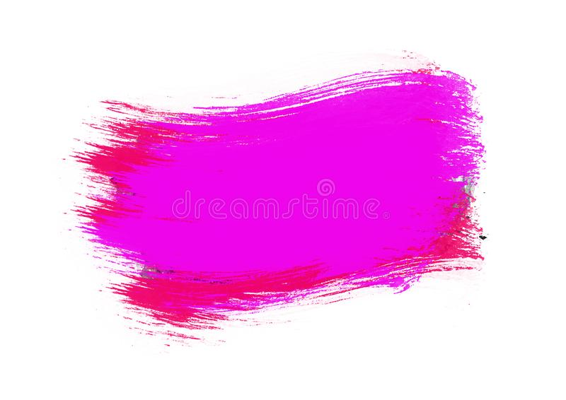 Color patches graphic brush strokes design effect element for background. Purple and red graphic color patches brush strokes effect background designs element stock photos