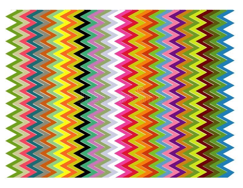 Color pattern. Color arch designed in illustrator vector illustration
