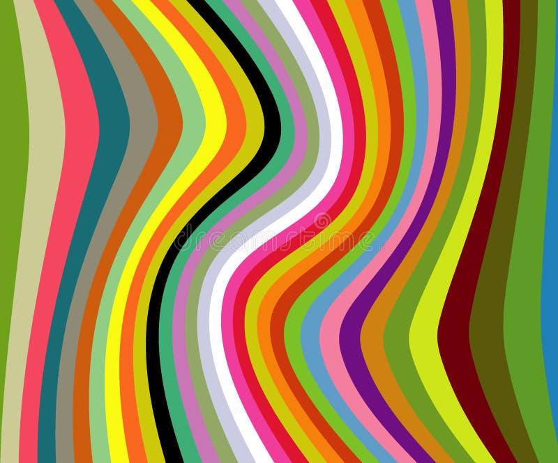 Color pattern stock illustration