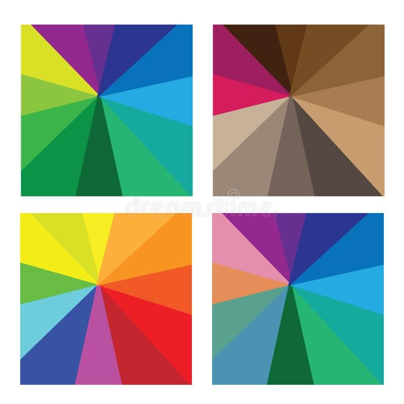 Color pattern vector illustration