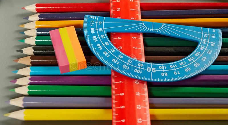 Download Color pencil stock image. Image of education, image, line - 11681989