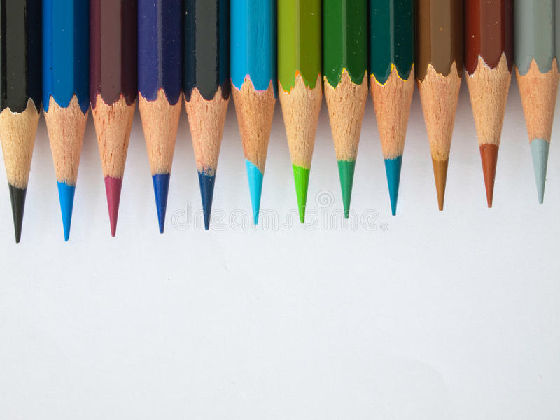 Download Color pencil stock image. Image of color, view, group - 16105313