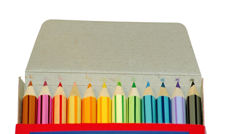Download Color pencil stock photo. Image of purple, educate, marker - 192384