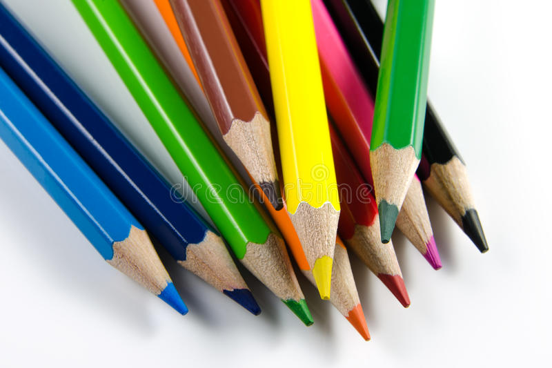 Download Color pencil stock photo. Image of point, high, sketch - 26499864