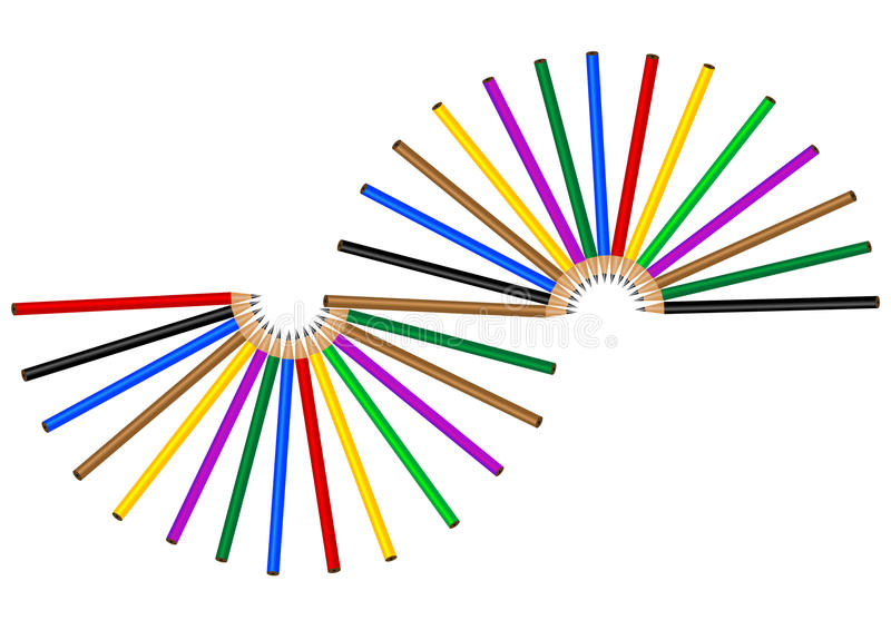 Download Color pencil stock photo. Image of tools, sector, drawing - 27382364