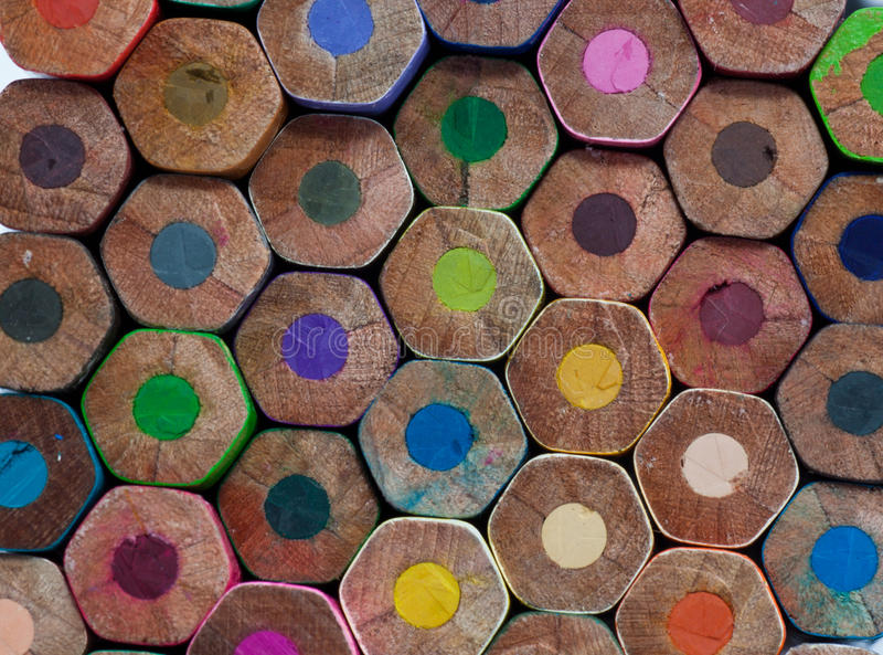 Download Color pencil stock image. Image of rainbow, drawing, draw - 39505649