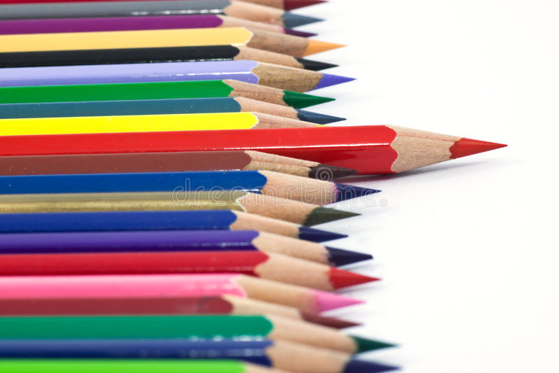 Download Color pencil stock photo. Image of design, graphics, purple - 39505562