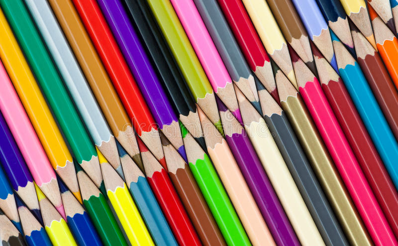 Download Color pencil stock image. Image of college, concept, rainbow - 39506955