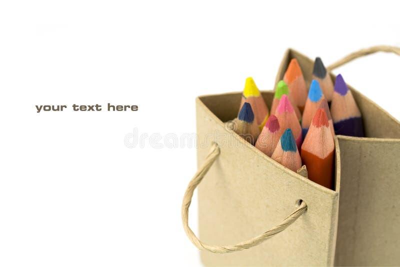 Download Color pencils stock photo. Image of green, sample, descriptive - 10721298