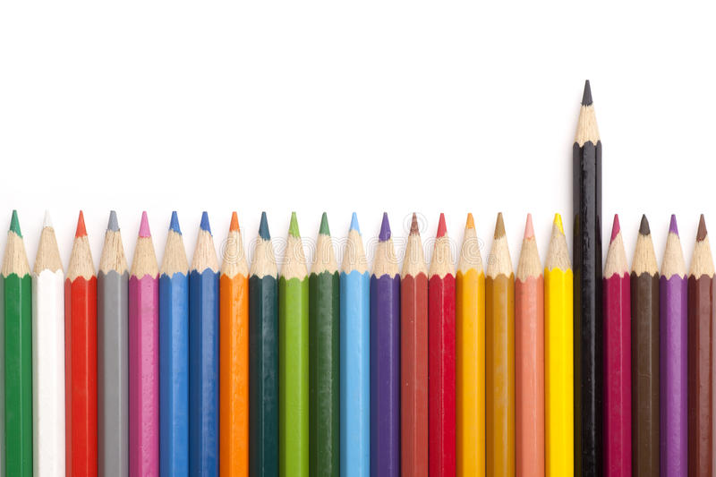 Download Color pencils stock photo. Image of object, colorful - 18302592