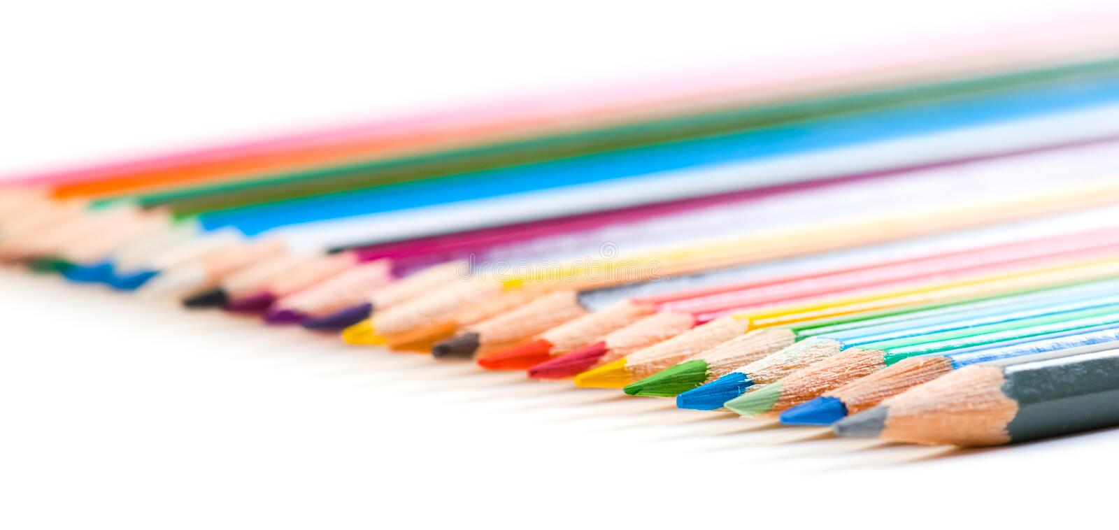 Download Color pencils stock photo. Image of sharp, isolated, blue - 18759308