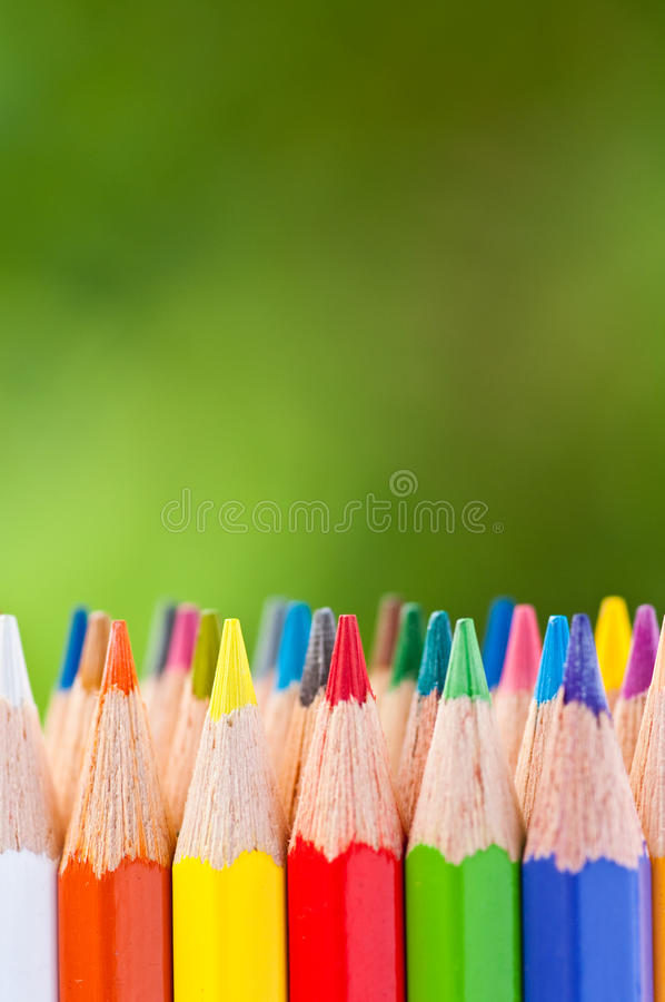 Free Color Pencils Royalty Free Stock Photos - 18980888