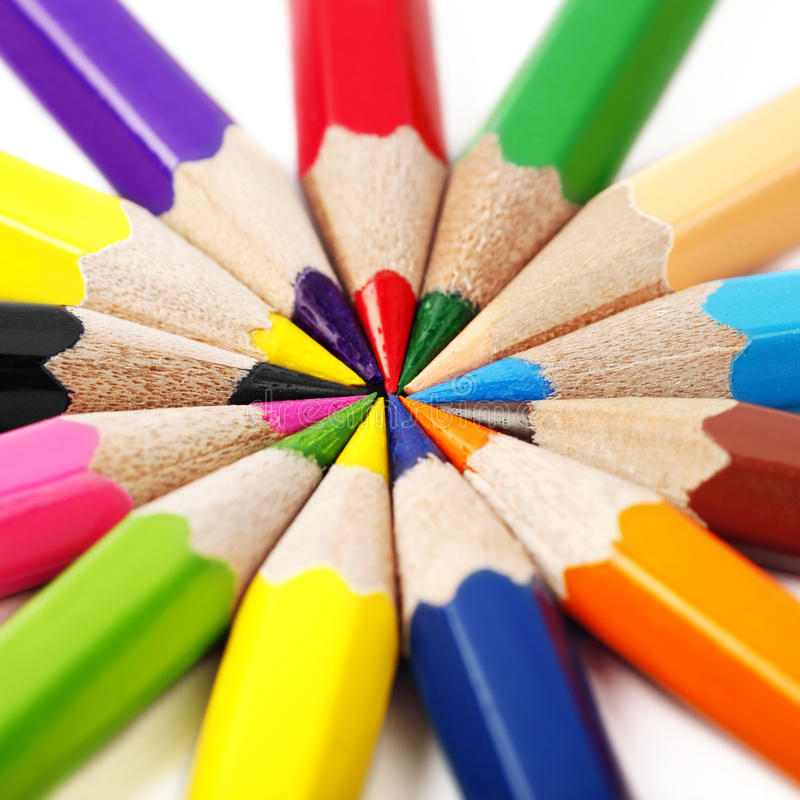 Download Color pencils stock image. Image of image, office, graphic - 23673445