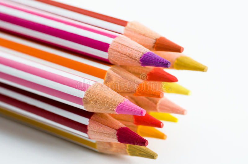 Download Color pencils stock photo. Image of isolated, variety - 23723184