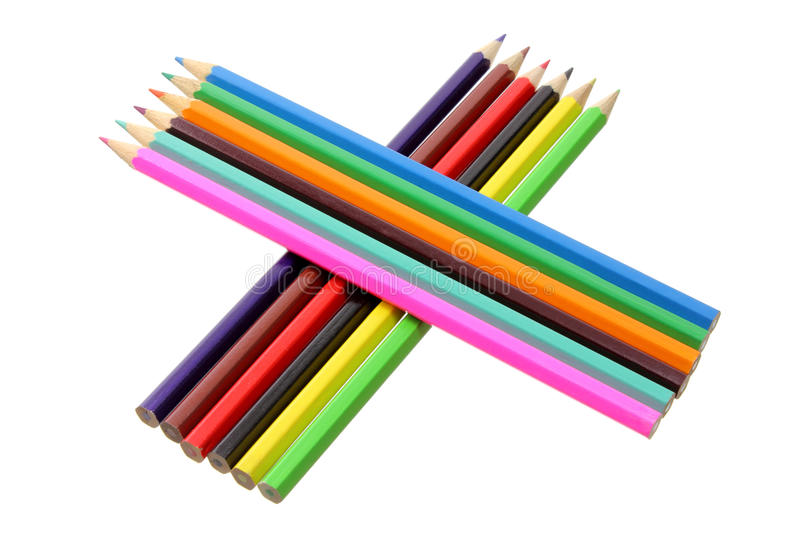 Download Color Pencils stock image. Image of sketching, pastel - 24551927