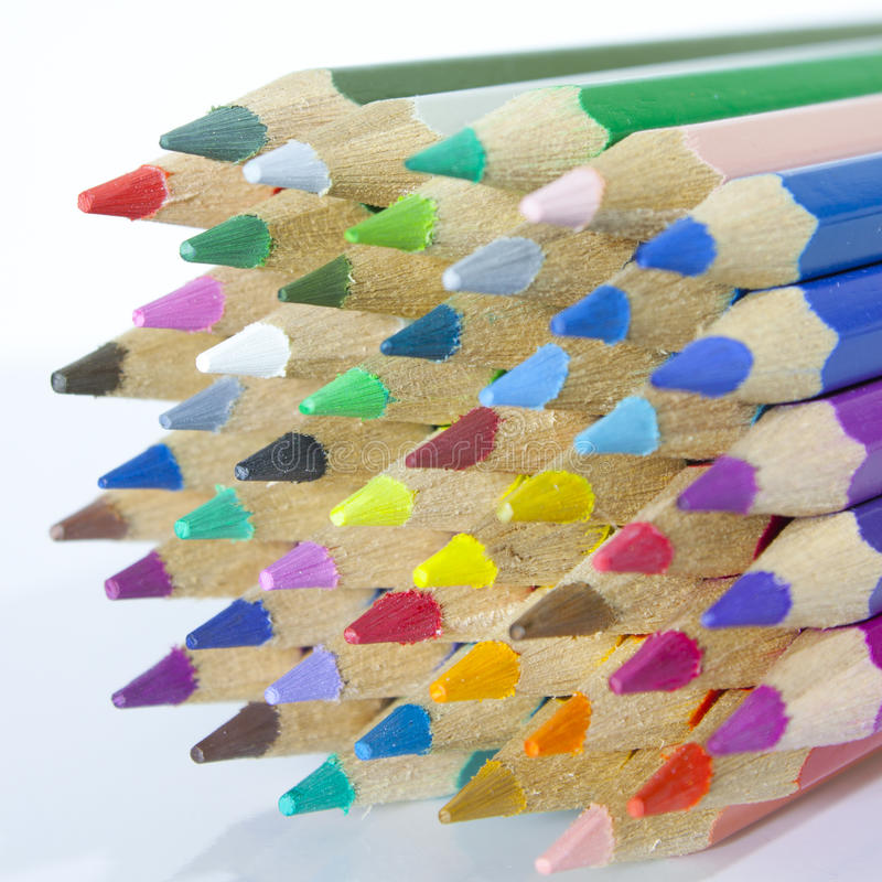Download Color Pencils stock photo. Image of colored, pencil, vibrant - 24879692