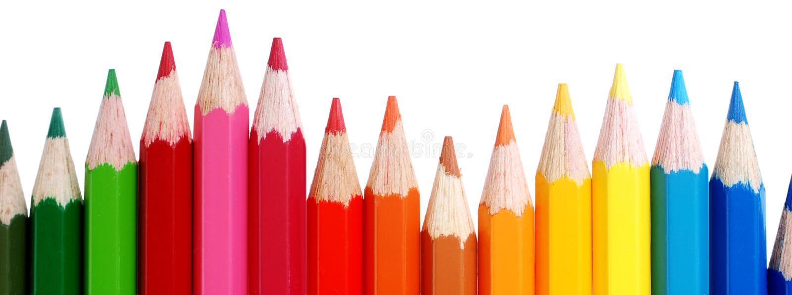 Download Color pencils stock photo. Image of pencil, crimson, childhood - 28442368