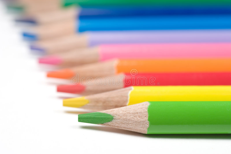 Download Color pencils stock image. Image of colour, craft, close - 301817