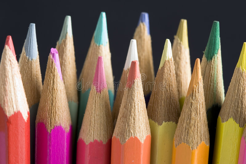 Download Color pencils stock photo. Image of coloring, paint, isolated - 3291172