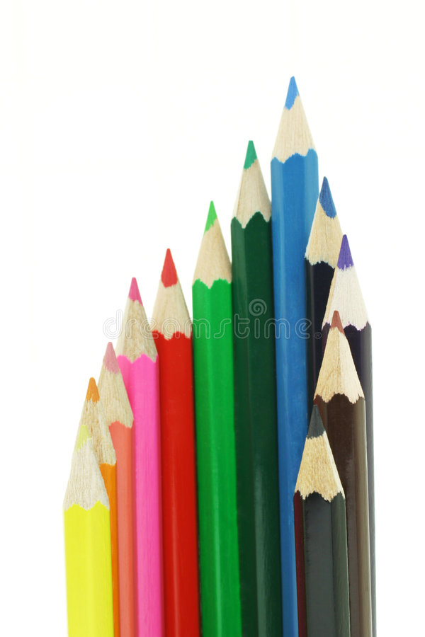 Free Color Pencils Royalty Free Stock Photo - 4555755