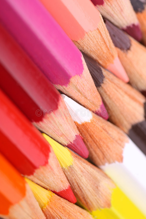 Free Color Pencils Royalty Free Stock Photo - 7108745
