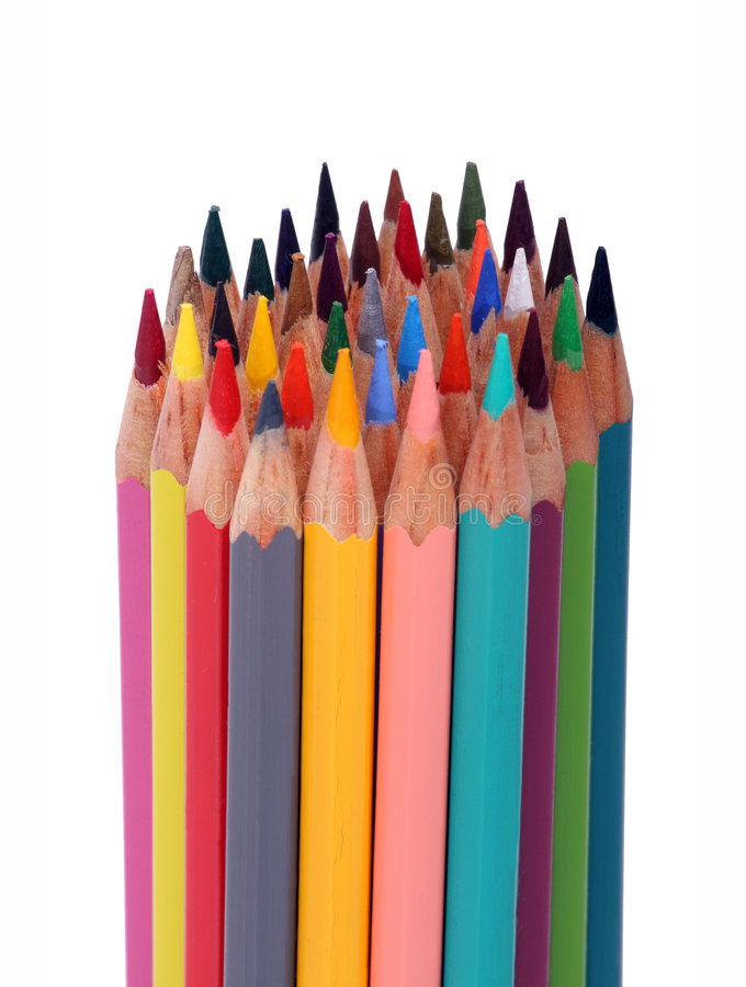 Free Color Pencils Stock Photography - 7152372
