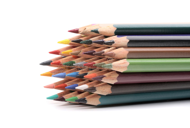 Download Color pencils stock image. Image of learn, imagination - 7152375