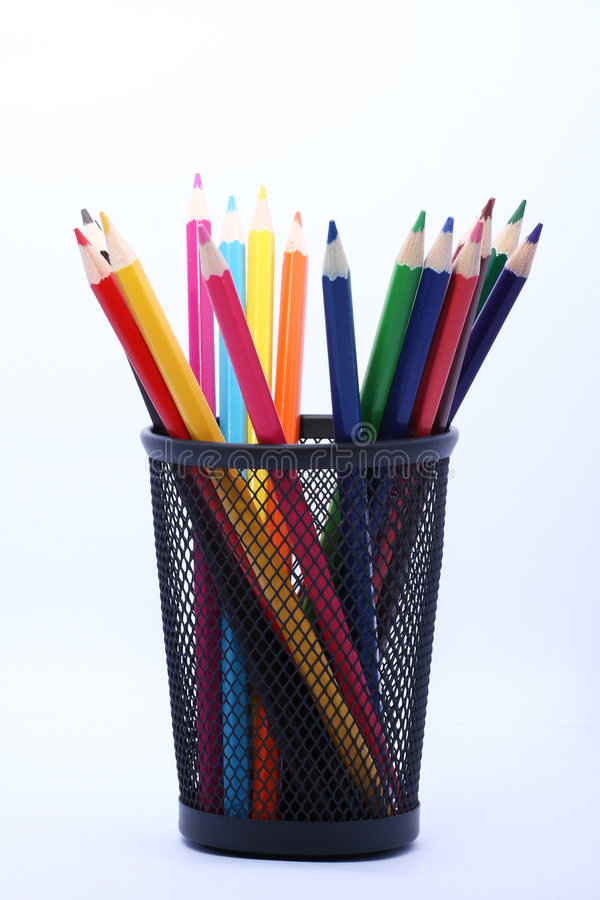 Download Color pencils stock photo. Image of color, education, hobby - 8419898