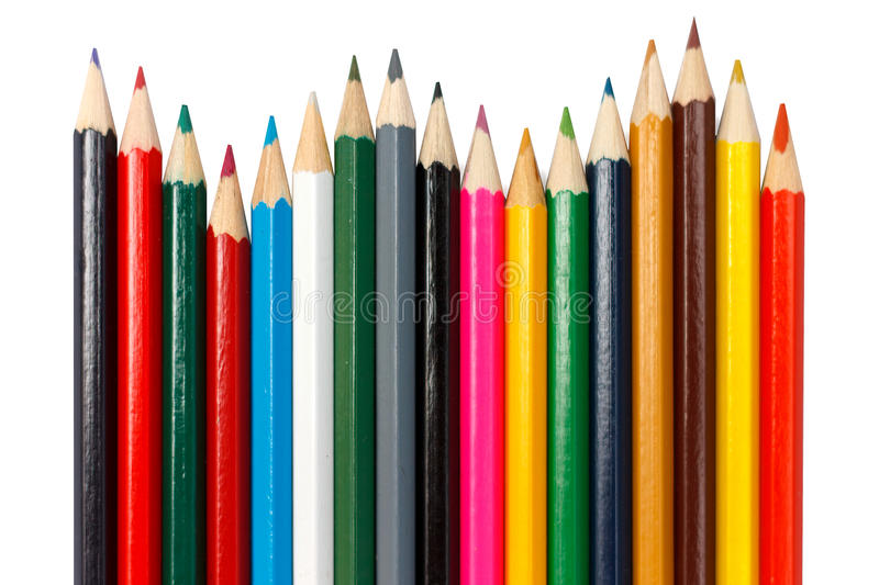 Download Pencils stock image. Image of design, draw, background - 30284833