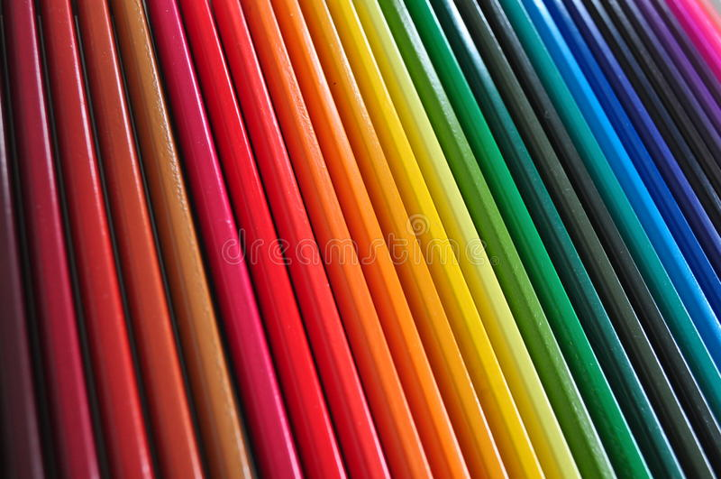 Color pens royalty free stock photography