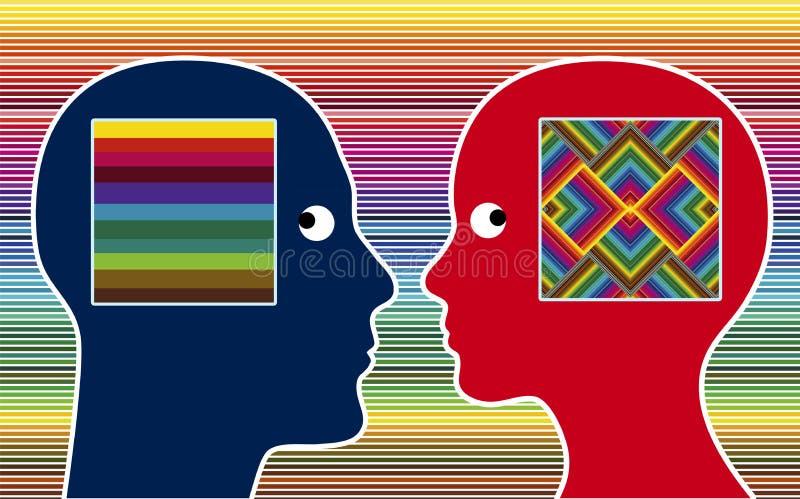 Color Perception vector illustration