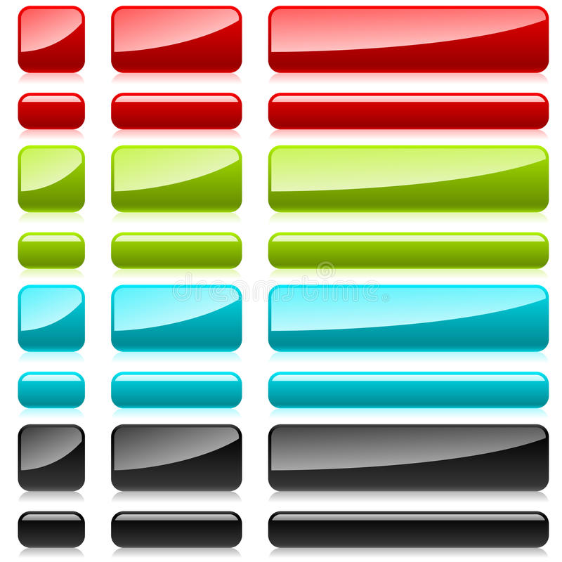 Download Color Plastic Rectangular Buttons Stock Photography - Image: 25680472