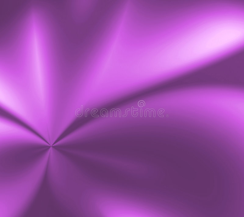 The Color Purple. Abstract design of smooth luxurious satin passionate purple with folds, creases, and light and shadow for depth royalty free illustration