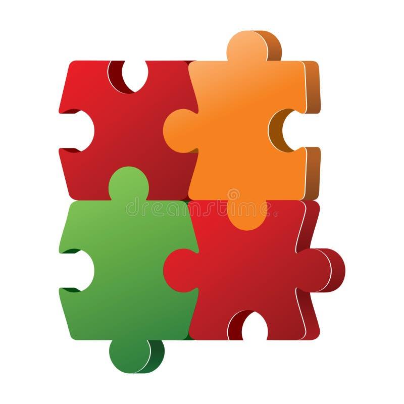 Color Puzzles Stock Photos