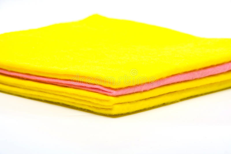 Download Color rags stock image. Image of orange, cleaning, cotton - 14561905