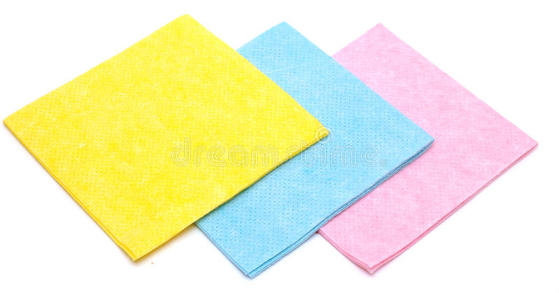 Color Rags Stock Images