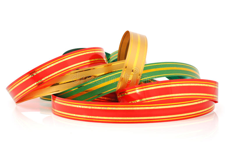 Download Color ribbon stock image. Image of ornament, christmas - 17003949