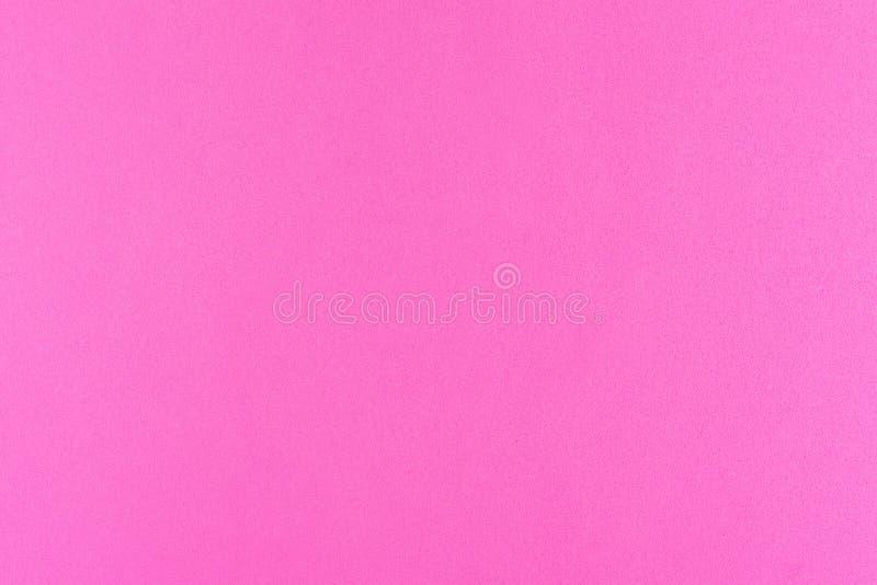 Color rosado de la pendiente con textura del papel real de la esponja de la espuma para el fondo, el contexto o el diseño fotos de archivo