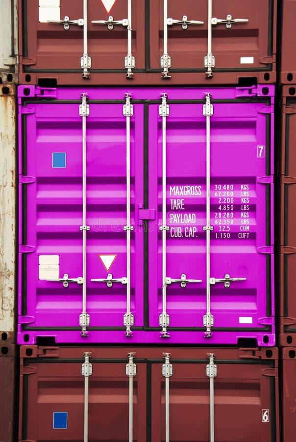 Color rosado del envase fotos de archivo libres de regalías