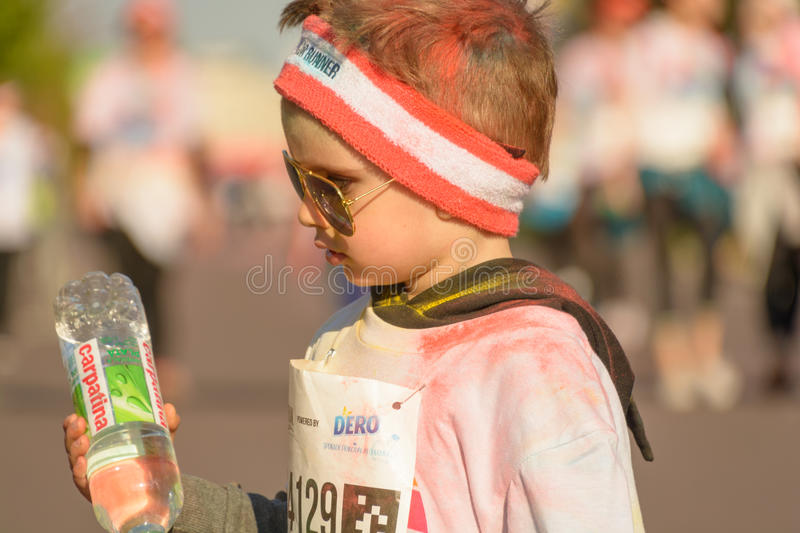The Color Run stock photography