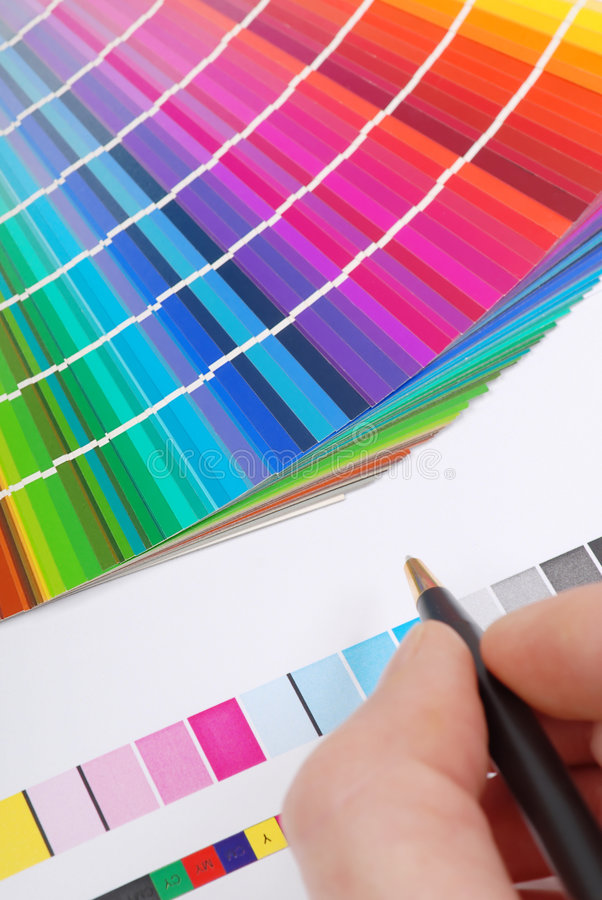 Download Color samples stock photo. Image of press, proof, colouring - 5592844