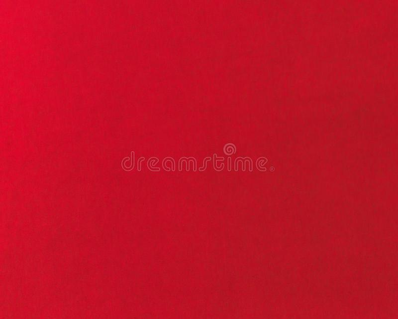 Color scarlatto puro e semplice di struttura sottile del tessuto rosso del tessuto immagine stock libera da diritti