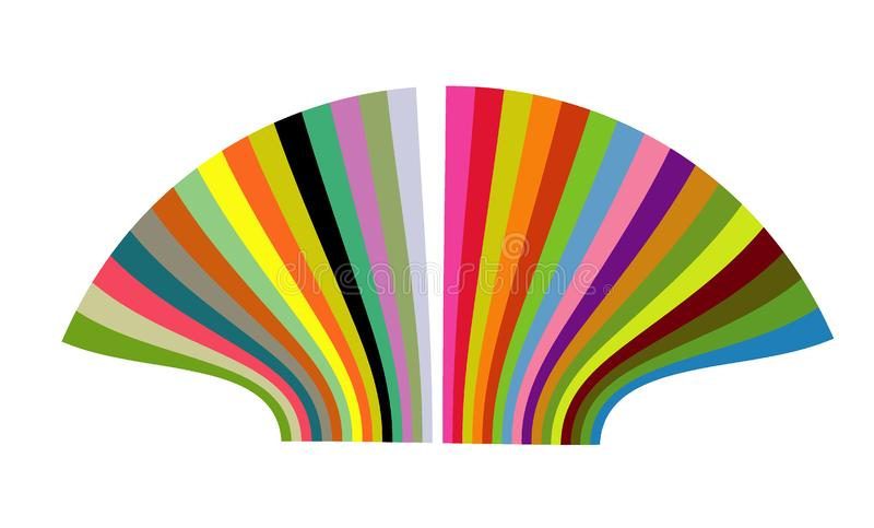 Color shell royalty free stock photography