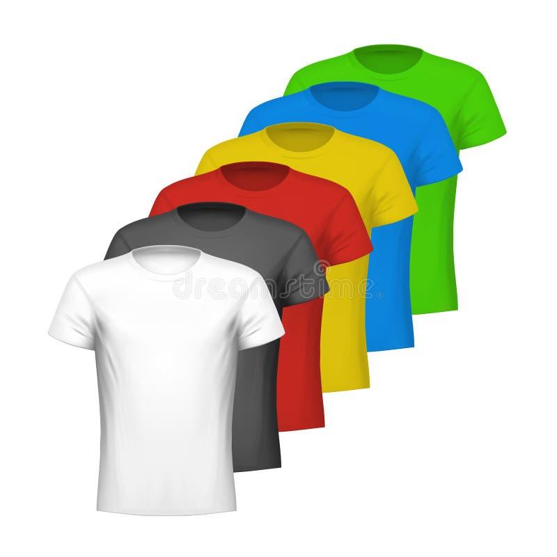 Color shirts royalty free illustration